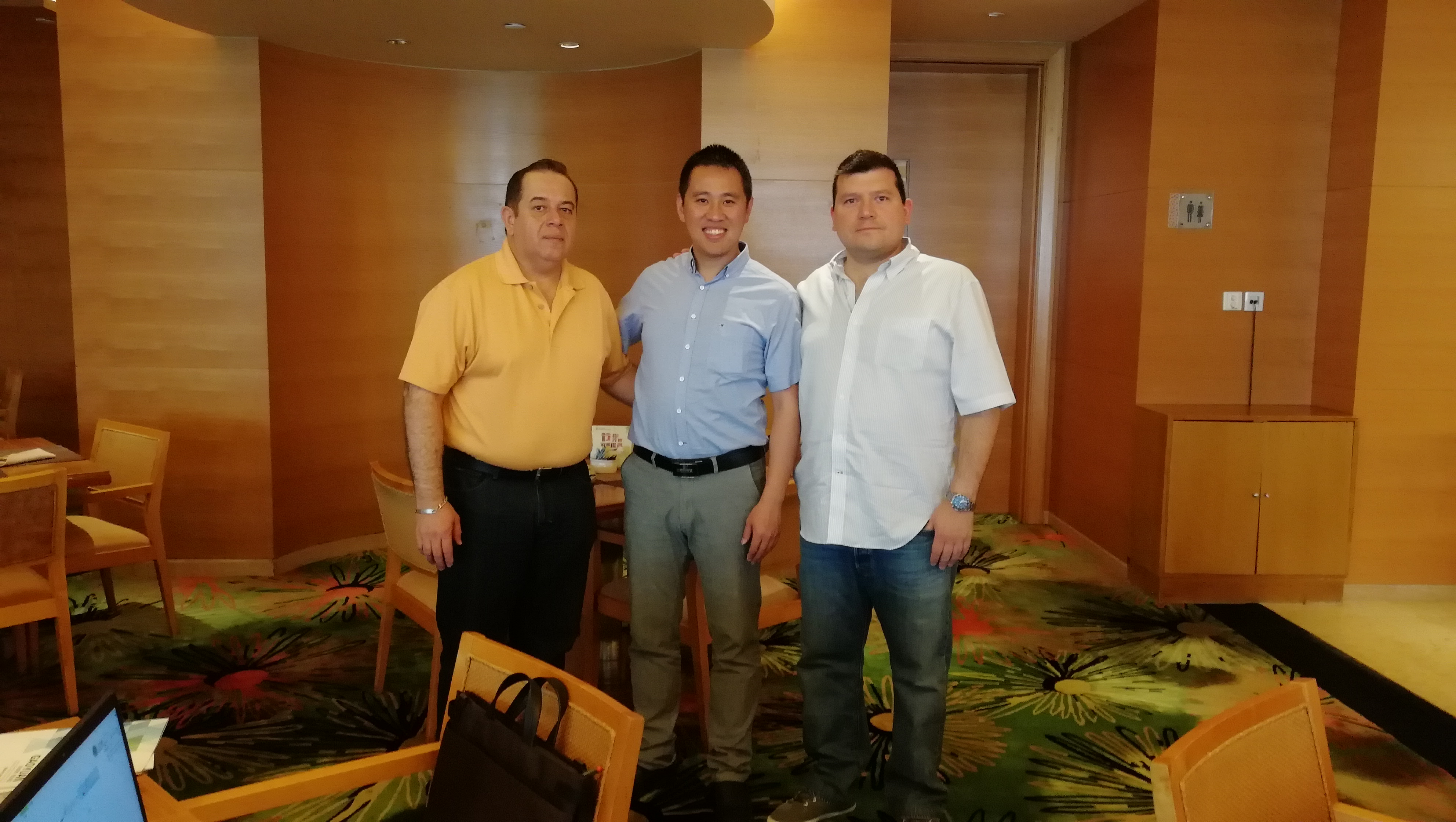 meeting with mexico clients