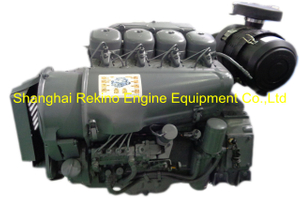 F4L914 Air cooled diesel engine motor for construction machinery