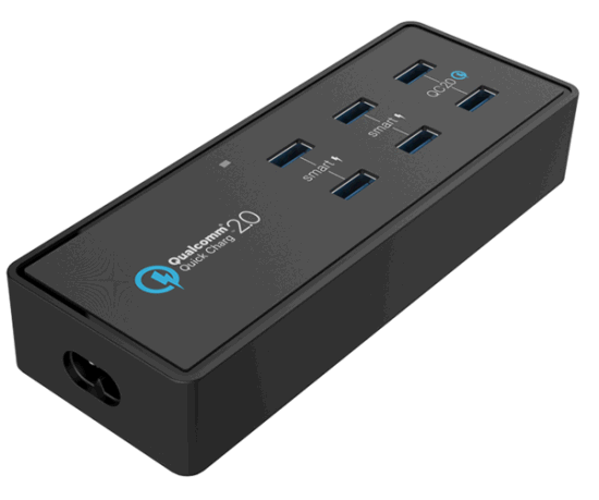 Quick Charger with 6 USB Ports