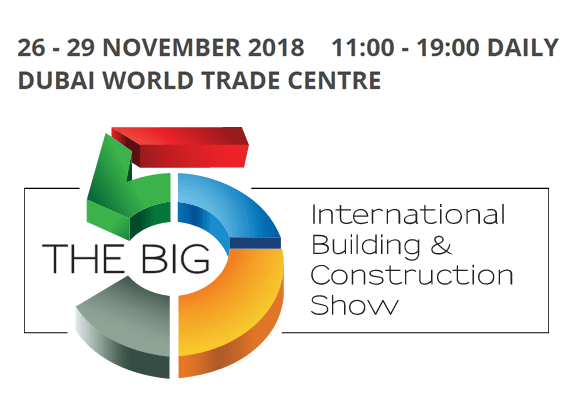 26 - 29 NOVEMBER 2018 DUBAI WORLD TRADE CENTRE