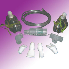 Nebulizer oxygen mask set