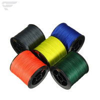 Super Strong PE Braided 1000m pure color Fishing Line