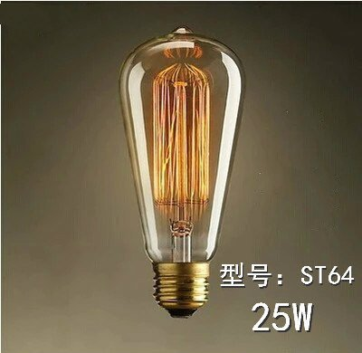 E27 St64 Vintage Antique Lamps Edison Bulbs