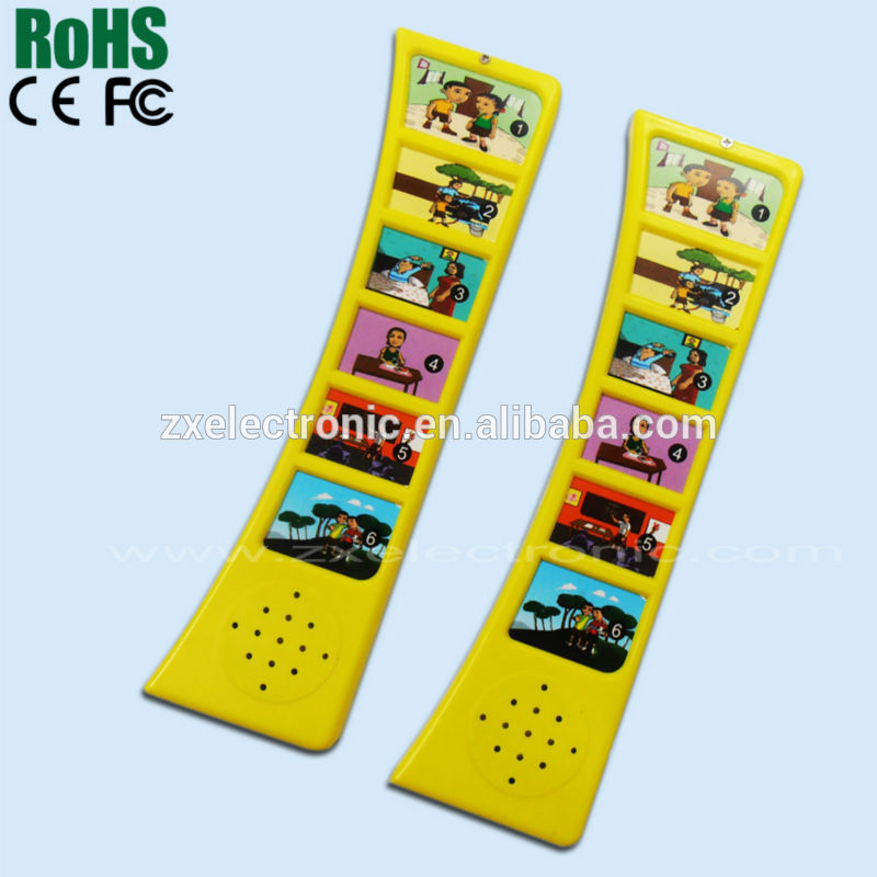 Children board book with sound pad