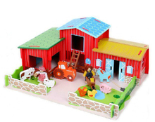 Kids Wooden Farm Toys