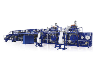 Full-Servo Control Adult Pull-up Diaper Production Line