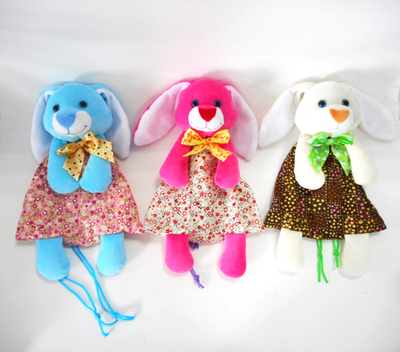 Easter Day Rabbit Floral Candy Storage Bag for Kids