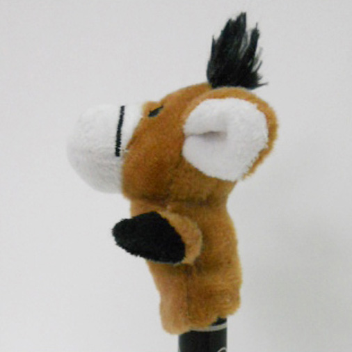 Plush Stuffed Toy Donkey Finger Puppet for Kids