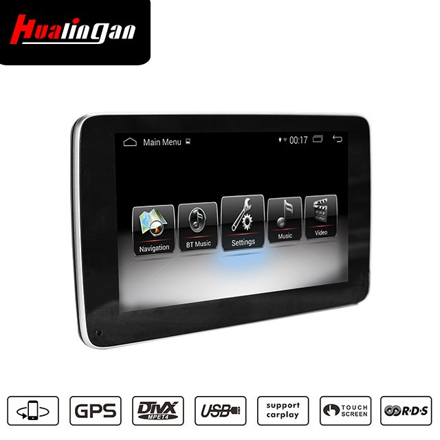 "9""Anti-Glare Benz A/G/GLA/CLA/CLS Android 8.0 Gps Navigation Wifi Carplay Car Stero"