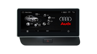 "Hualingan (1005)10.25 ""audi q5 anti-reflexo car stereos carplay dvd navigatior multimídia"