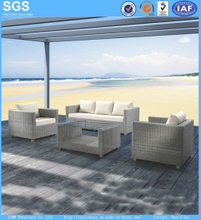 Outdoor Balcony Sofa Customize OEM Poly Rattan Furniture