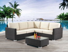 Garden Patio Wicker / Rattan Sofa Set - Outdoor Furniture (LN-400)