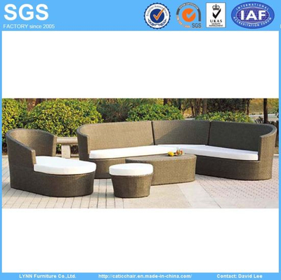 Rattan Garden Furniture Corner Sofa Set Ln-023