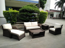 Garden Patio Wicker / Rattan Sofa Set - Outdoor Furniture (LN-3028)