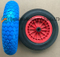 Colorful PU Wheel Used on Wheelbarrow (3.50-8)