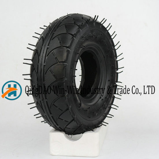 Pneumatic Rubber Wheel Used on Hand Truck Wheel (3.50-4)