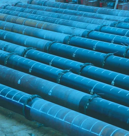LSAW API 5L Carbon Steel Pipe Welded Steel Pipe