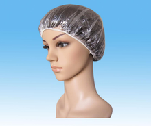 Disposable PE hotel and spa use shower cap