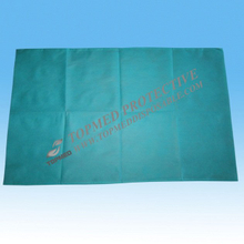 Blue disposable non woven pillow cover
