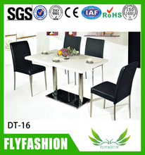 home furniture canteen dining tables with PU chair (DT-16)