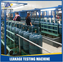 LPG Gas Cylinder Whole Producing Line Leakage Testing Machine