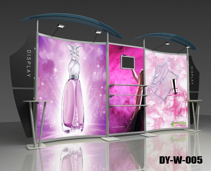 Display Stand For Exhibition : Aluminum truss advertising booth exhibition backdrop display stand