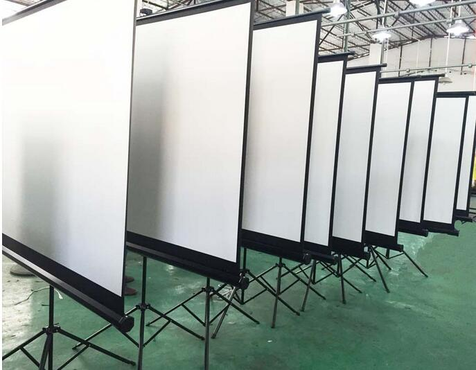Tripod Projection Screen Portable Projector Screen Competitive price Online