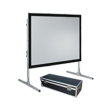 Customized Fast Fold Projector Screen With Front And Rear Projection
