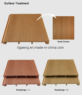 Domestic Hot Sale Style WPC Outdoor Decking for Bathroom