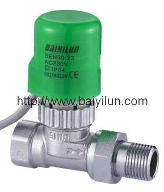 Thermal actuator valve