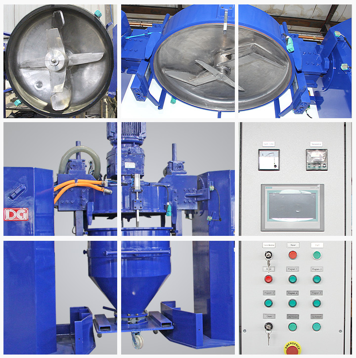 Degold CM2000 Automatic Container Mixer for Powders - Buy