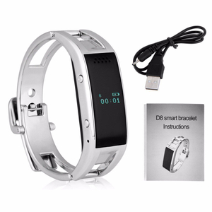 Bluetooth Vibrating Smart Wristband D8 Sports Smart Watch for Ios Android Phone Reloj