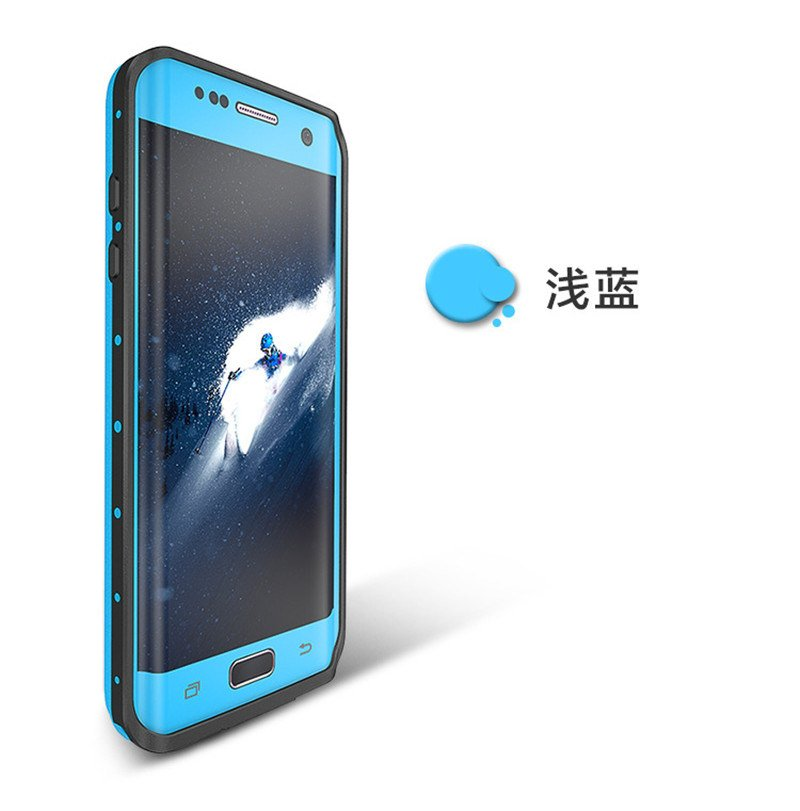 2017 New Design Waterproof Mobile Phone Case for Samsung S7 Edge