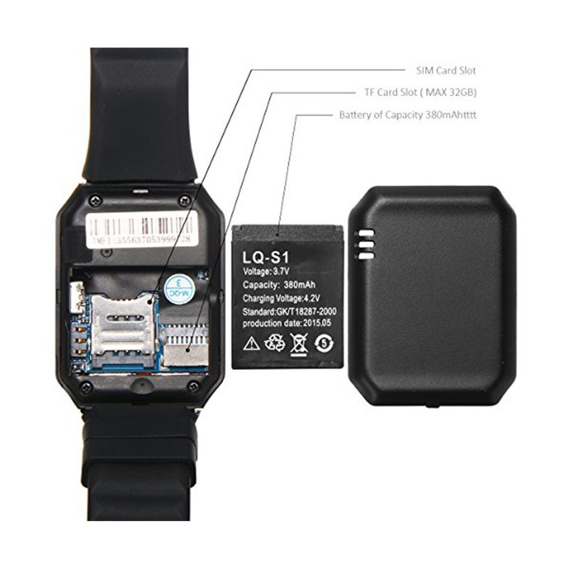 Bluetooth Smart Watch Dz09 Smartwatch GSM SIM Card for Android Ios iPhone