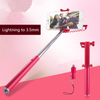Universal Lightning To 3.5mm Adapter for Monopod Selfie Stick for IPhone7/7p/8/8p