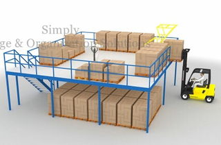 mezzanine rack with wooden platform China supplier