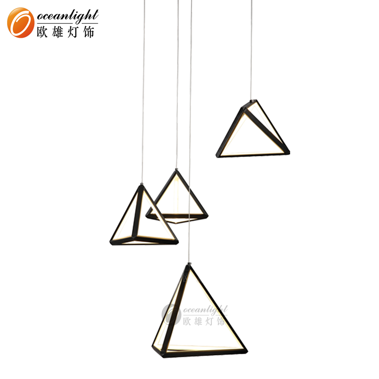 New Design LED Triangle Aluminum Pendant Lamp OM801700