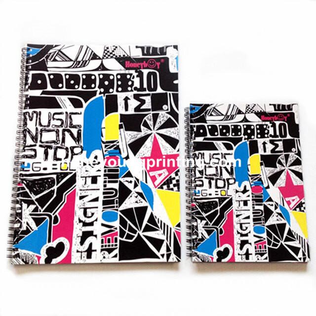 spiral note books (2)