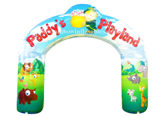 RB21024(5mh)Inflatable Park Welcome Arch/ Inflatable Customized High Quality Arch