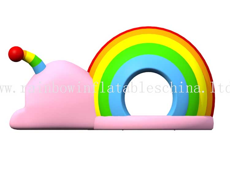 RB01049 (4.5x7x4m) Inflatables Snail bounce castle bouncer commercial jumping for kids