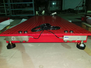 KYLOWEIGH AXLE SCALE ---Portable Weighbridge Installation