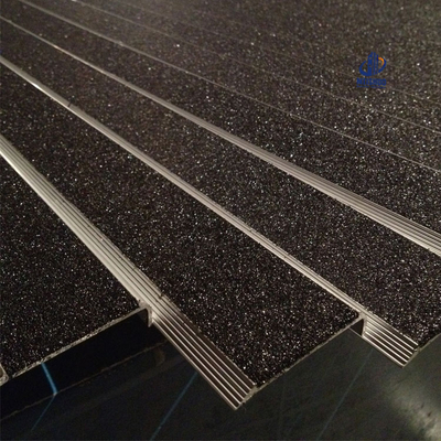 Outdoor use fireproof Carborundum insert Stair Nosing MSSNC-6