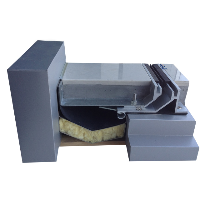 Aluminum Seismic Floor Corner Expansion Joint Cover MSD-QSZJ