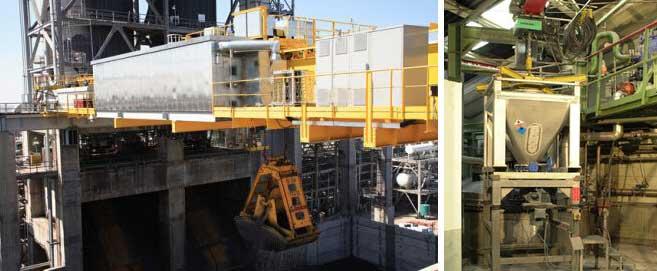 Ebon Cranes In Power Industry