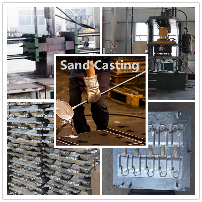 sand casting plant