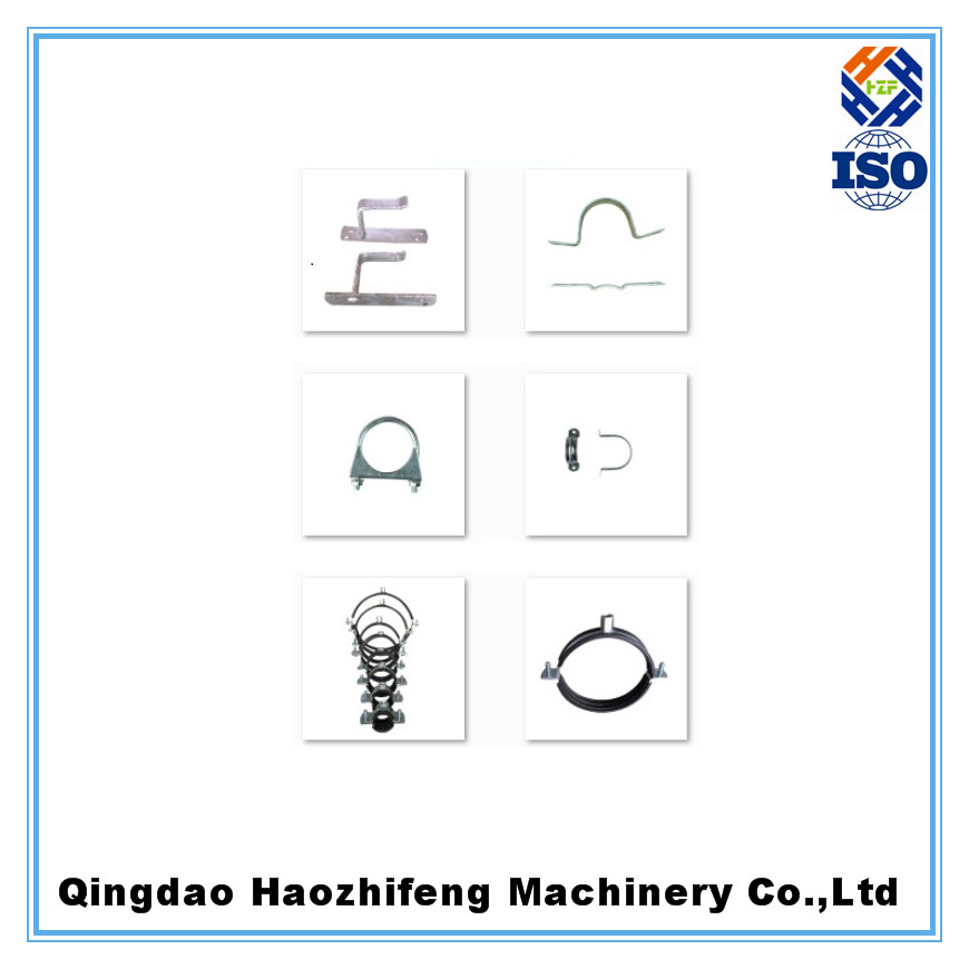 China Manufacture Supporting Hose Stainless Steel Pipe Clamp