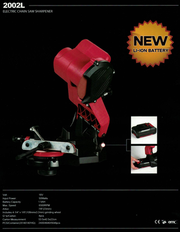 ELECTRICAL CHAIN SAW SHARPENER 2002L