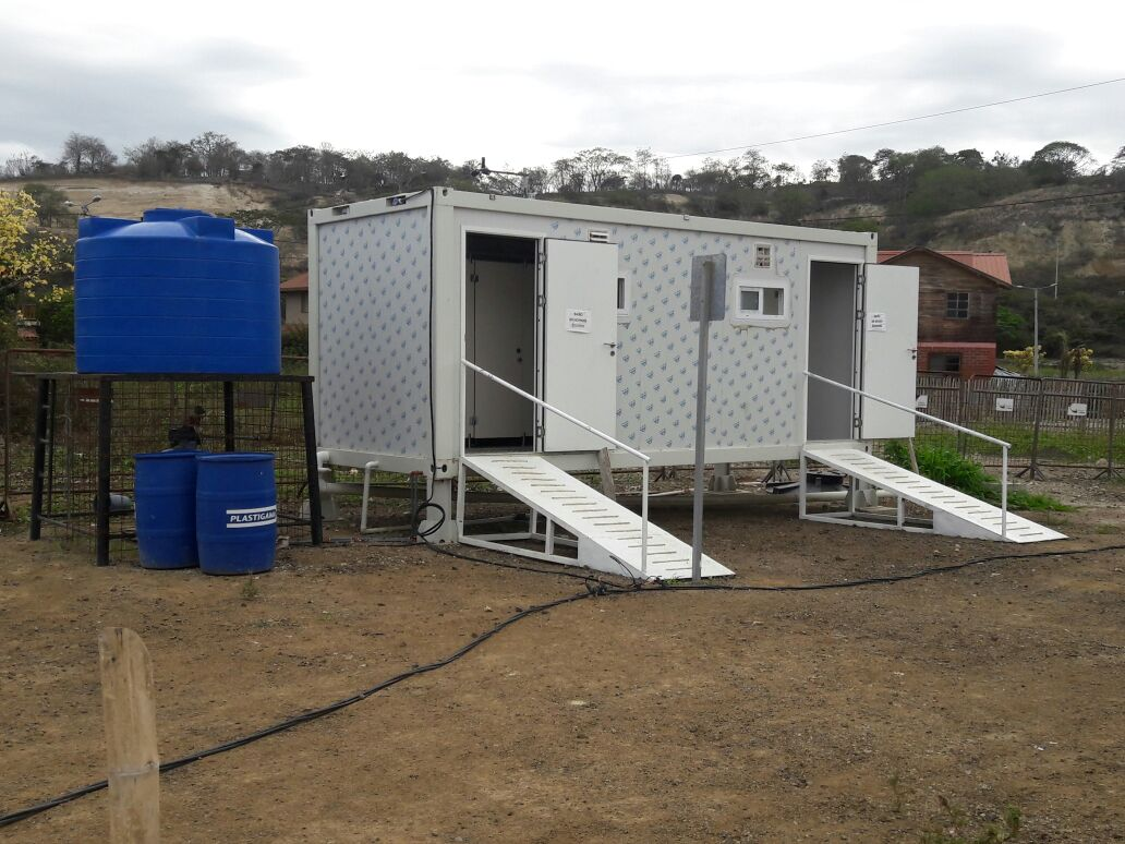 The Houses Donated by PTH for Ecuador Have Been Put Into Use1.JPG