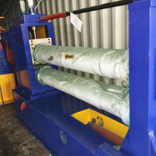 sheet metal slitting machine