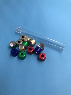 8mm aluminum cap for dental cartridge